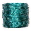 S-Lon TEX400 Heavy Bead Cord TEAL - Ø 0.9 mm - Rolle mit...