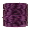 S-Lon TEX400 Heavy Bead Cord PLUM - Ø 0.9 mm - Rolle mit...