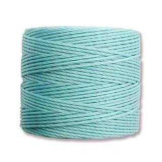 S-Lon TEX210 Bead Cord TURQUOISE - Ø 0.5 mm - Rolle mit 70 Meter