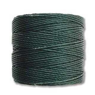 S-Lon TEX210 Bead Cord EVERGREEN - Ø 0.5 mm - Rolle mit 70 Meter